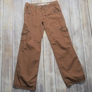 Mossimo | Brown Low Rise Cargo Pants Size 5